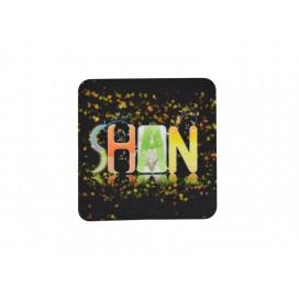促销礼品方形毛毡杯垫印图   满幅印刷杯垫   工厂直销