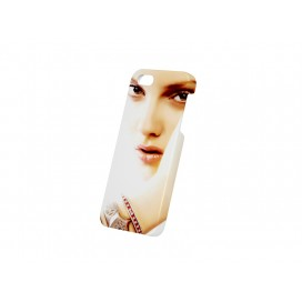个性定制3D iPhone 5/5S/SE 光面塑料手机壳