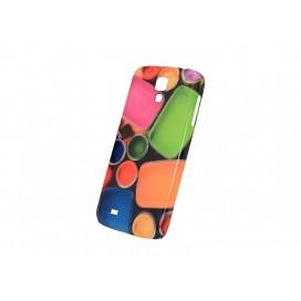 个性定制3D三星S4光面塑料手机壳