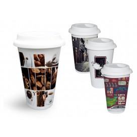 11OZ新款咖啡杯印图   个性化星巴克咖啡杯定制
