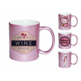 11OZ粉红珠光杯