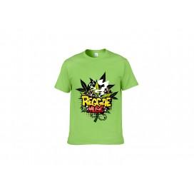 浅绿纯棉T恤(12C)(180g)