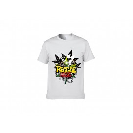 白色纯棉T恤(30N)(180g)