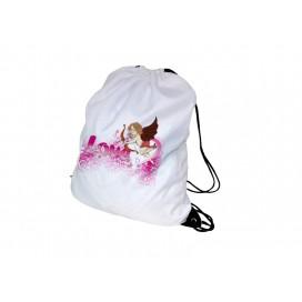 DIY定制印图   牛津布束口抽绳袋印图   定做涤纶背包拉绳袋   环保背包袋   收纳袋