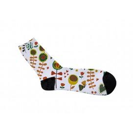 40cm长筒男袜满幅转印   个性化DIY印图   全球代发   工厂直销