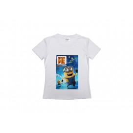高端广告T恤   运动圆领女款T恤   DIY印图   女士圆领T恤   DIY来图定制