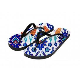 成人沙滩拖鞋DIY来图定制   个性化拖鞋数码升华转印   一件代发