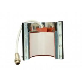 3oz陶瓷小酒杯杯垫+铁片(烤杯机用)-新接口