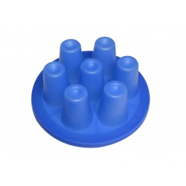 1.5oz小酒杯硅胶吸盘(7孔)-桌面真空机用