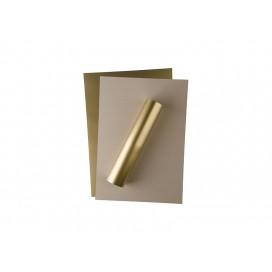 FOREVER深色激光转印膜(A3,金色,无痕)(100张/盒)