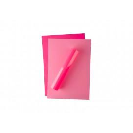 FOREVER深色激光转印膜(A3,粉色,无痕)(100张/盒)