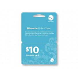 面额$10 在线图片设计下载卡